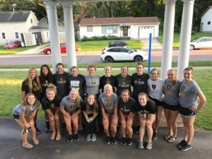 St. Olaf Volleyball Team